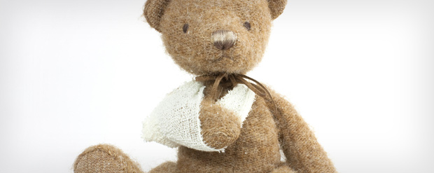 teddy-bear-with-accident-injury